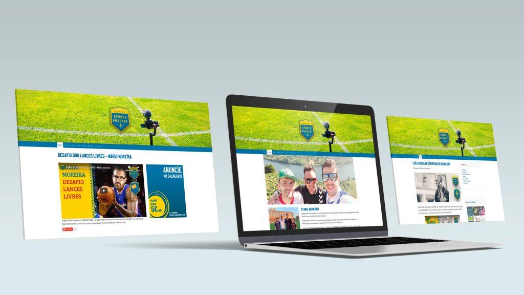Website Canal Balneário