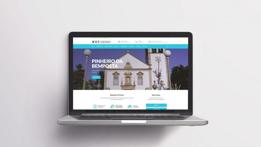 Website UF Pinheiro da Bemposta, Travanca e Palmaz