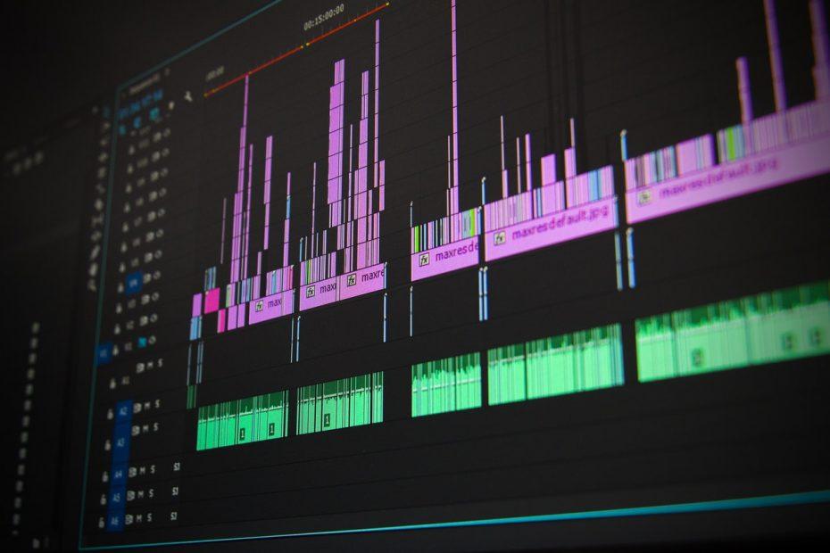 pós-produção de vídeo